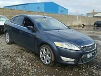 BREAKING FOR PARTS FORD MONDEO TITANIUM X 2008 1.8 TDCI 125 BHP IN SEA GREY