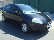 2007 Fiat Punto Dynamic Black 6 Speed Manual Hatchback Hampstead Gardens Port Adelaide Area Preview