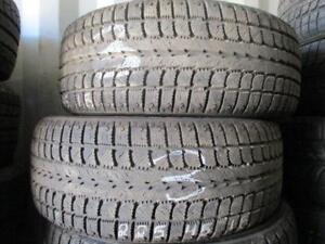 225/45 R18 SONY WO18 GENERAL USED WINTER TIRES (SET OF 2) - APPROX. 80% TREAD