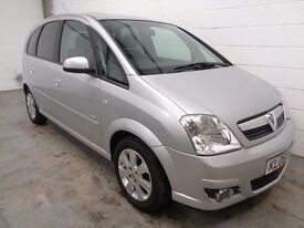 VAUXHALL MERIVA MPV , 2006 REG , ONLY 58000 MILES + FULL HISTORY , YEARS MOT , FINANCE , WARRANTY