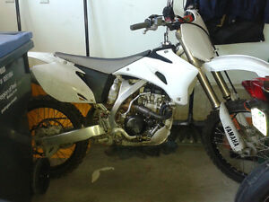 YZ250F 2009 clean bike