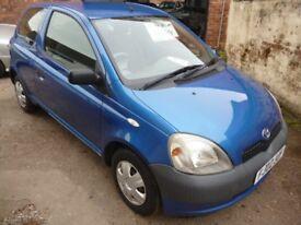 TOYOTA YARIS S VVT-I (blue) 2002