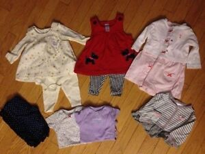 0-3 Month Girls Lot