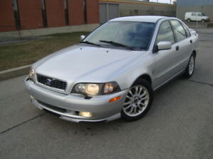 2004 VOLVO S40 TURBO AUTO 120000 KMS ''TAX INCLUDED''