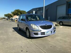 2004 Daihatsu Sirion M100 Neptune Blue 4 Speed Automatic Hatchback Newport Hobsons Bay Area Preview