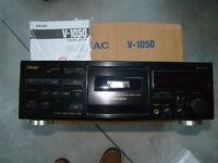 Teac V-1050 Cassette Deck (make an offer)