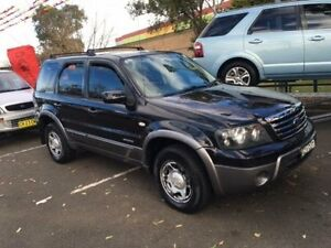 2006 Ford Escape ZC XLS Black 4 Speed Automatic Wagon Campbelltown Campbelltown Area Preview