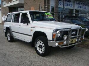 1992 Nissan Patrol GQ ST30 (4x4) White 5 Speed Manual 4x4 Wagon Wangara Wanneroo Area Preview