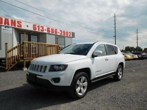 2015 JEEP COMPASS HIGH-ALTITUDE *** WEEKLY AT $68.50 OAC***