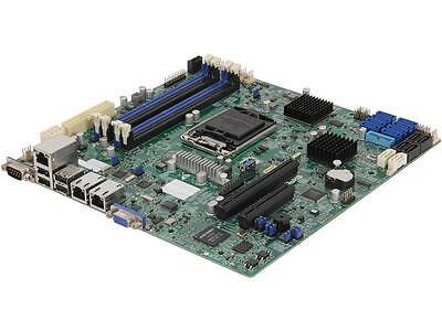 SUPERMICRO MBD-X10SL7-F-O Micro ATX Server Motherboard LGA 1150 Intel C222 DDR3