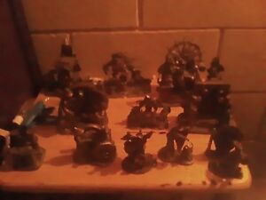 Pewter fantasy figurines for sale