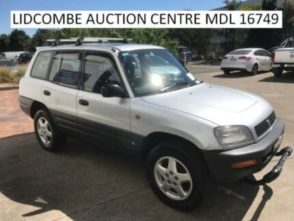 1996 Toyota RAV4 CRUSER PACK Silver Automatic Wagon