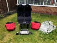 Baby Jogger City Mini GT Double Buggy with Accessories