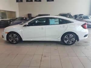2018 Honda Civic EX-T - B/U+Right Side Cam, Heated Leather Seats