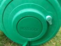 Hozelock Auto Reel 20m with automatic reeling used. Please Text.
