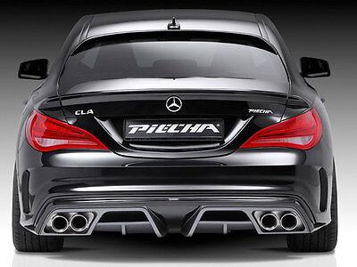 Mercedes W117 Cla CLA200 CLA250 AMG CLAA45 Hintere Stoßstange Diffusor Einsatz
