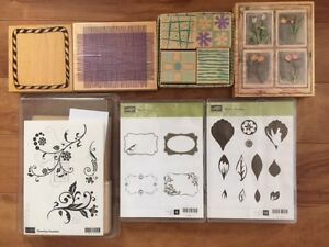 STAMPIN UP STAMPS AND MISC SUPPLIES