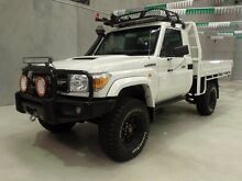 2012 Toyota Landcruiser VDJ76R MY10 Workmate 5 Speed Manual Wagon Miller Liverpool Area Preview