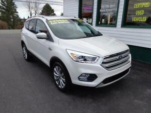2018 Ford Escape Titanium 4x4 for $242 bi-weekly all in!