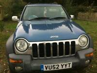 Jeep cherokee 2.5 spares or repairs