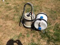rollalong water barrels x2