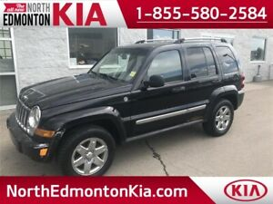 2007 Jeep Liberty Limited   4x4   LEATHER   SUNROOF   BLUETOOTH