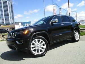 2017 JEEP GRAND CHEROKEE LIMITED V6 (PANORAMIC ROOF, REVERSE CAM