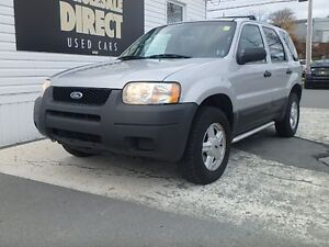 2003 Ford Escape SUV XLS 4X4 2.0 L