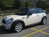 2011 MINI COOPER S (AUTOMATIQUE, TOIT PANO, CUIR, MAGS, FULL!!!)