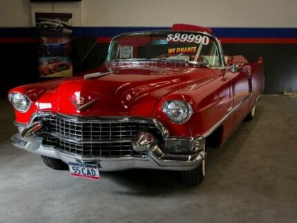 1955 Cadillac Series 62 Red Automatic Convertible
