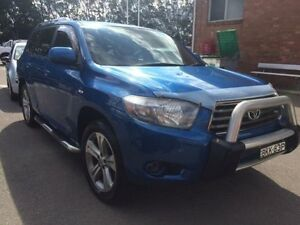 2009 Toyota Kluger GSU45R KX-S (4x4) Blue 5 Speed Automatic Wagon Georgetown Newcastle Area Preview