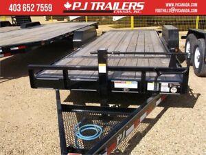 """2019 PJ 16' x 6"""" Channel Equipment Tilt Trailer, 14K GV"""