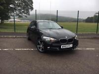 BMW 118D SPORT 2.0TD 2013 63 *5 DOOR ONLY 47K MILES, FULL BMW S/HISTORY*
