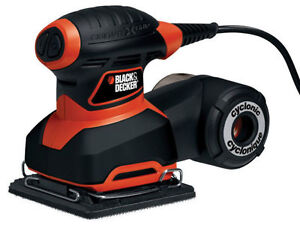 ★✪ Black & Decker Cyclone 1/4 Sheet Sander ✪★