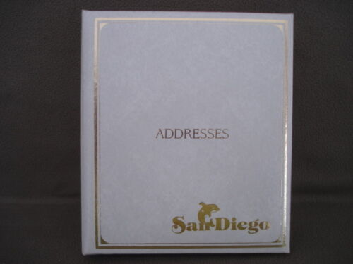 Address Telephone Directory Book