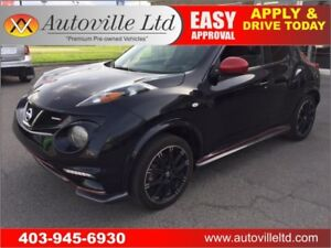 2013 NISSAN JUKE NISMO NAVIGATION BACKUP CAMERA 6 SPEED MANUAL