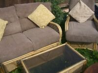 GARDEN Furniture - NOW WITH TWO SETS OF CUSHIONS - CLACTON ON SEA - CO15 6AJ