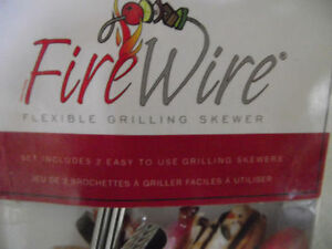 Fire Wire Flexible Grilling Skewers BBQ