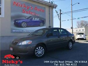 2008 Toyota Corolla CE, AUTO, PWR GROUP, A\C, CRUISE, LOW KM!
