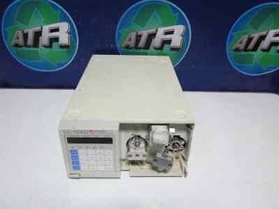 Shimadzu Lc-10ad Liquid Chromatograph Pump - For Parts Or Repair