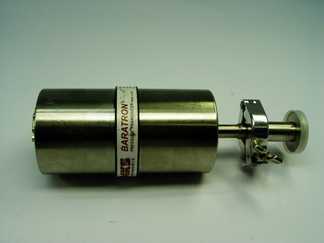 MKS Instruments CT27 Baratron Pressure Transducer Manometer CT27B01TDC412