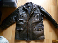 ALPHA LEATHER JACKET
