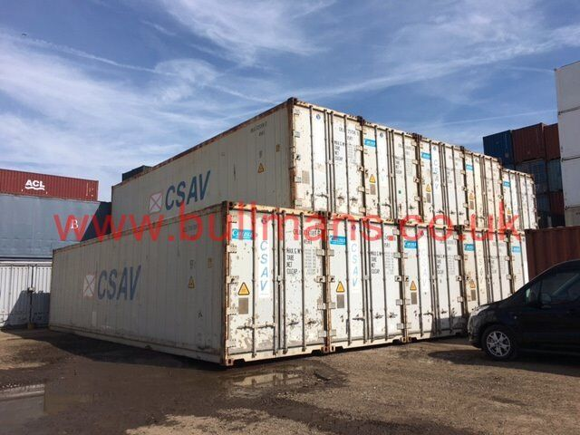40ft high cube refrigerated shipping container CSC plated, reefer container,fridge unit for sale