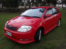 2004 Toyota Corolla ZZE123R Sportivo Red 6 Speed Manual Hatchback Albert Park Charles Sturt Area Preview