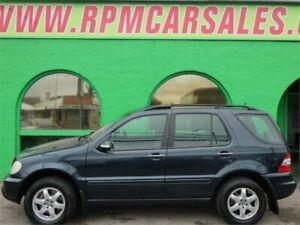 2004 Mercedes-Benz ML500 W163 Luxury (4x4) Black 5 Speed Auto Tipshift Wagon Nailsworth Prospect Area Preview