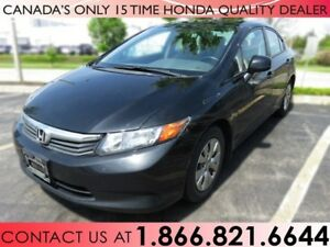 2012 Honda Civic LX | 1 OWNER | NO ACCIDENTS