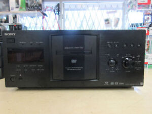 **ON TRACK** Sony 400 Disc player DVP-CX777ES
