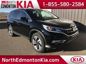 2016 Honda CR-V Touring  **LEATHER-NAV-SUNROOF**