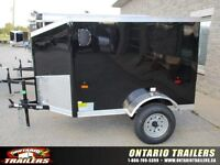 ONTARIO TRAILERS HAS A BRAND NEW 4X6 V NOSE IN STOCK!