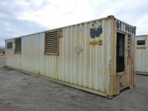 Newage Stamford containerized dual genset